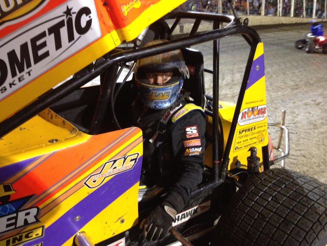 #59 Jac Haudenschild from Wooster, OH made the trip to