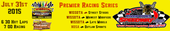 River Cities Speedway 2015 Schedule