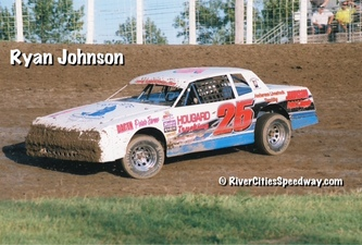 Ryan Johnson #25 Street Stock 2012 - River Cities Speedway