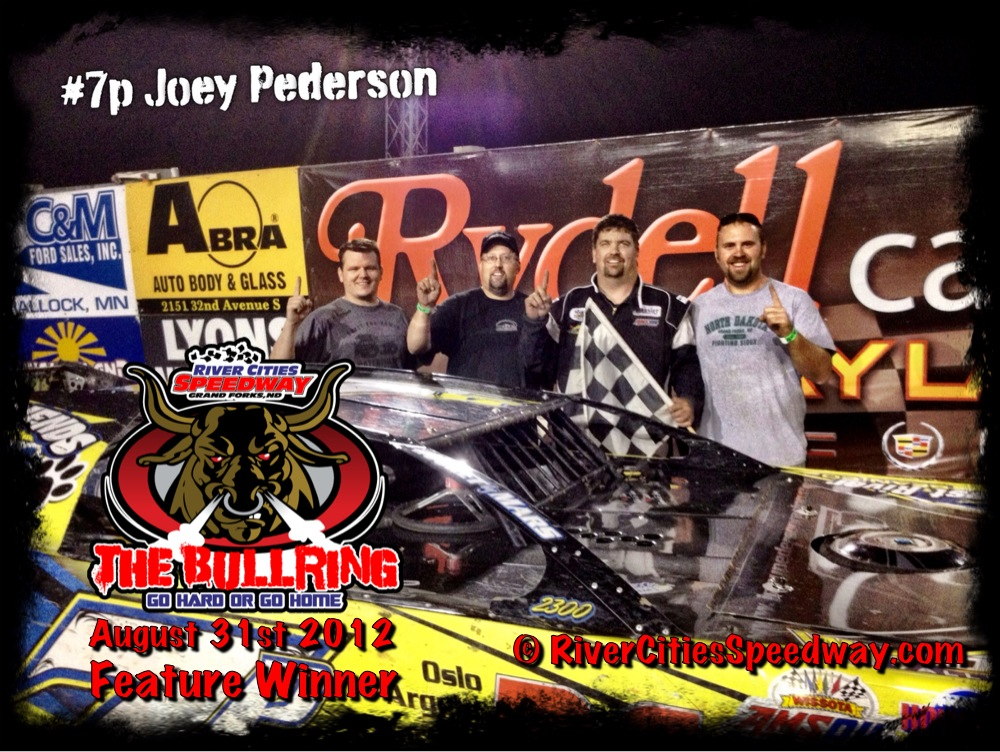 #7p Joey Pederson Aug 31st River Cities Speedway Late Model Feature Winner