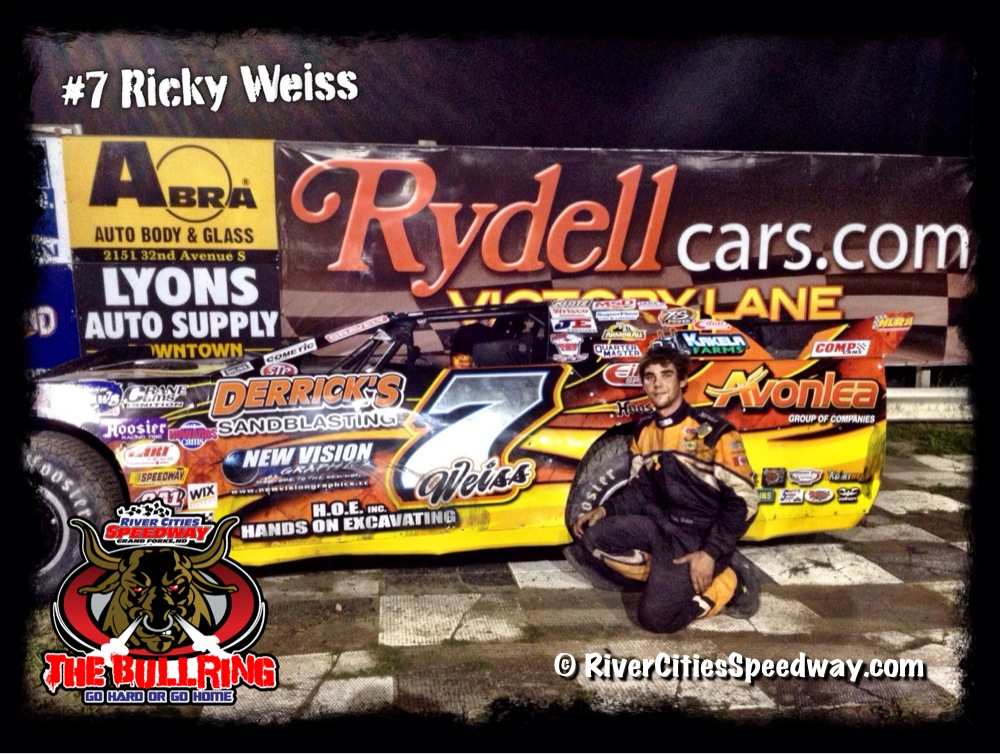 #7 Ricky Weiss of Hedingley MB Canada - River Cities Speedway