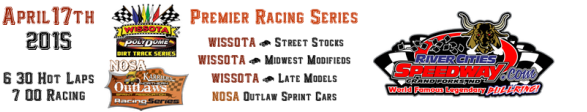 April 17th 2015 Premier Racing Series Schedule