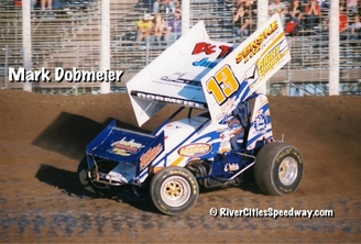 #13 Mark Domeier Outlaw Sprint Car Winner May 25th - River Cities Speedway