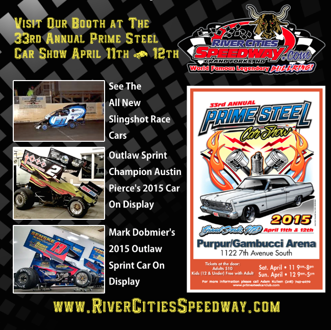 Prime Steel Car Show - River Cities Speedway, Slingshot Race Cars, Austin Pierce, Mark Dobmeier, Outlaw Sprints, Outlaw Sprint Cars