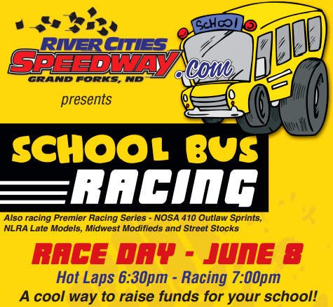 School Bus Racing River Cities Speedway