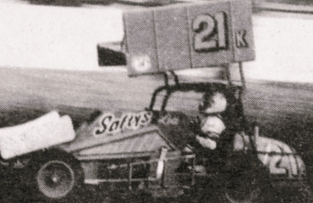 Lou Kennedy at Grand Forks River Cities Speedway