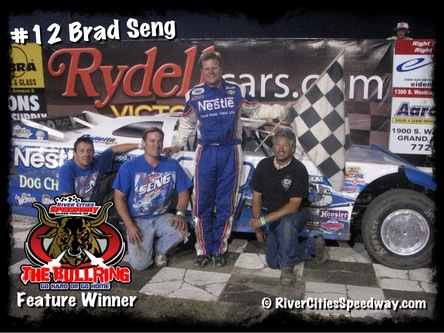 #12 Brad Seng Late Model Driver - Grand Forks ND - River Cities Speedway