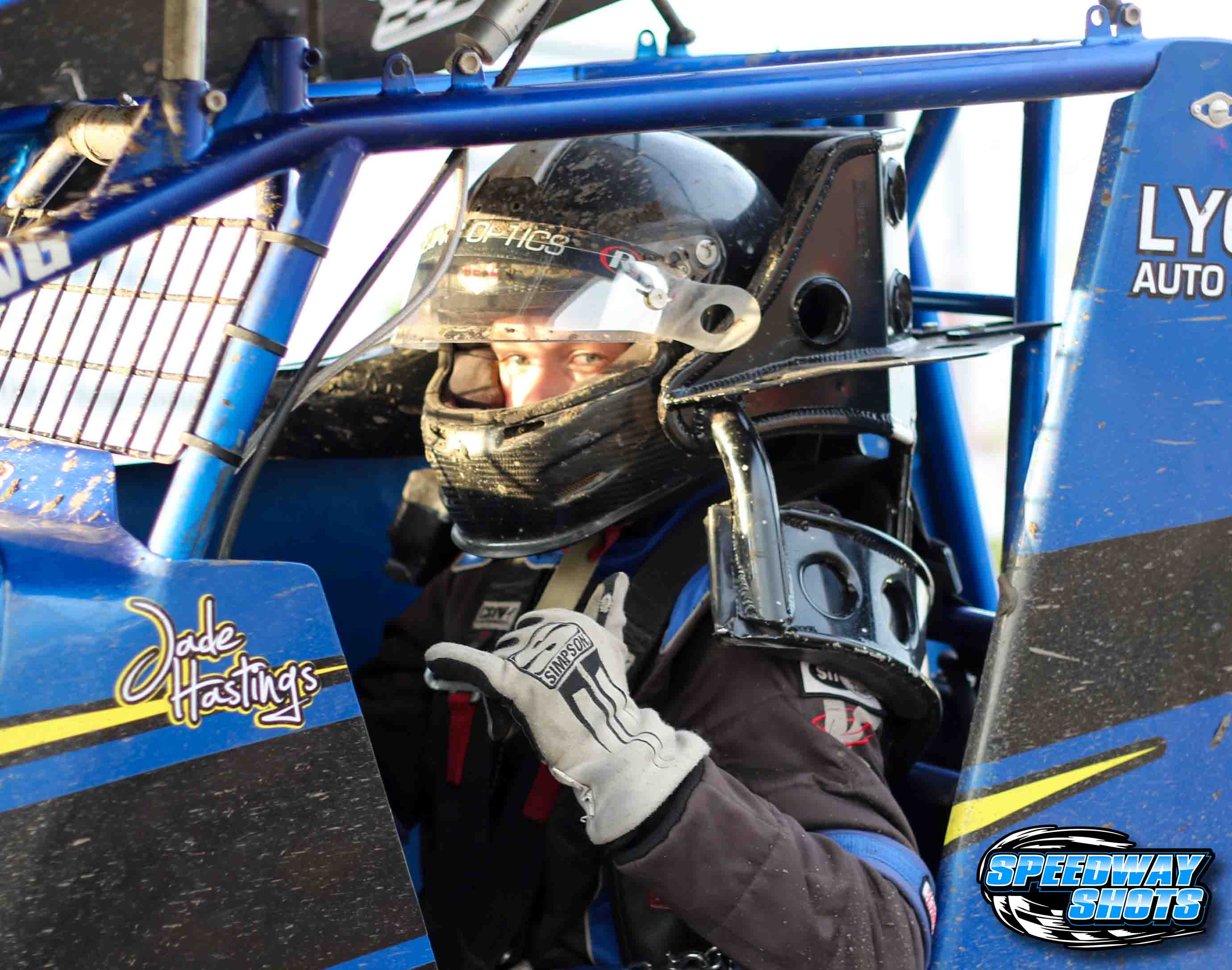 Jade Hastings, NOSA Sprint Cars, River Cities Speedway, Speedway Shots, Mike Spieker