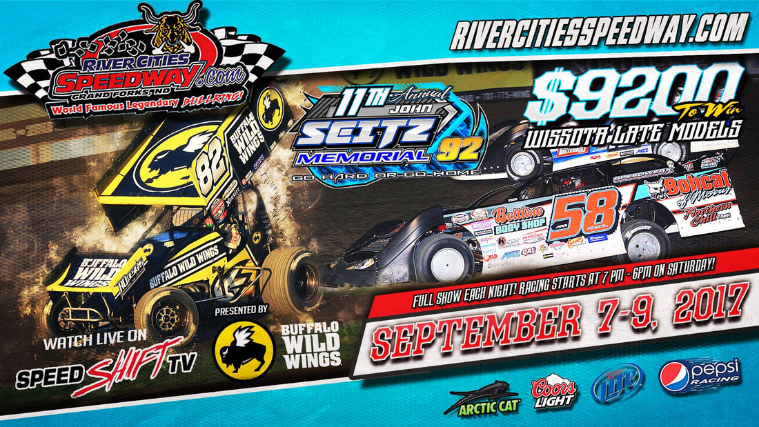 john seitz memorial, river cities speedway, speed shift tv